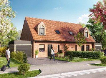 Valenciennes maison neuve