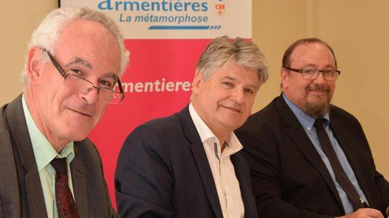 Signature convention accession propriété Ville Armentières