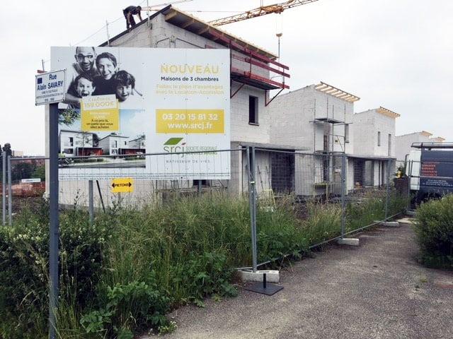 Visite de chantier Lens Les Terrasses de la Colline